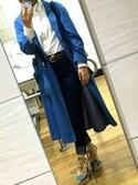 「Polo Ralph Lauren Long-Sleeve Button-Front Shirt(Polo Ralph Lauren)」 using this チェリー looks