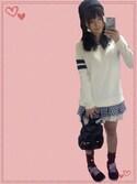 saaaさんの「WOMEN コットンカシミヤラインロングセーター(長袖)(ユニクロ|ユニクロ)」を使ったコーディネート