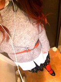 「FOREVER 21 Oversized Button-Back Shirt(Forever 21)」 using this あみ looks
