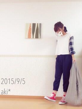 aki*さんの「Marche Bag 3rd anniversary 限定マルシェバッグ(TODAY'S SPECIAL|トゥデイズスペシャル)」を使ったコーディネート