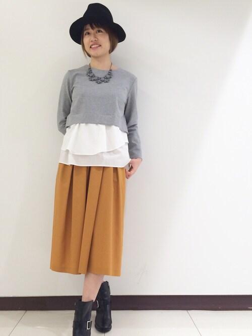 ABAHOUSE L.et.r 横浜ジョイナス店chiho0331さんの「(|)」を使ったコーディネート