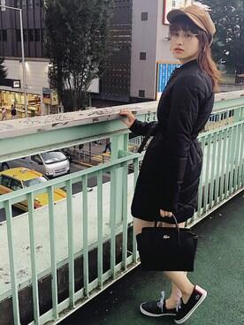 LACOSTE 渋谷店 TURNERさんの(LACOSTE ラコステ)を使ったコーディネート