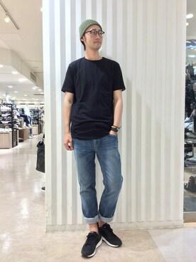 MORGAN HOMME新宿MEN|yamaoka hiroroさんの(MORGAN HOMME|モルガンオム)を使ったコーディネート