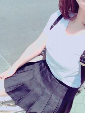 「天竺 クルーネック Tシャツ (半袖)(LACOSTE)」 using this kana looks