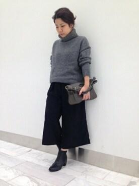 Rougevif la cleピオレ姫路店|土江咲穂さんの(FONCE|フォンセ)を使ったコーディネート