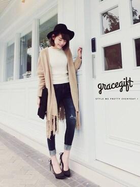Gracegift|Gracegiftさんの(GraceGift|グレースギフト)を使ったコーディネート
