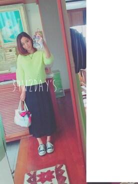 N.yuliさんの(gelato pique Baby&Kids|ジェラートピケ ベイビーアンドキッズ)を使ったコーディネート