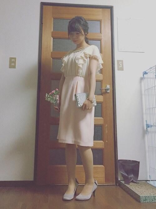 結婚式 服装 上品 コーデ