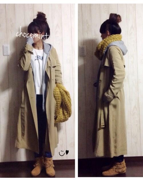 トレンチコートを着る気温|気温ごとのコーデ2選・真冬も着たい