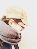 クボコユキさんの「☆★LOWRYS FARM MEN★☆カラーストール 529098(LOWRYS FARM|ローリーズ ファーム)」を使ったコーディネート