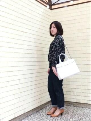 岡山天満屋bijiness by SAZABY|イワサさんの「LTS-02/トート(SAZABY|サザビー)」を使ったコーディネート