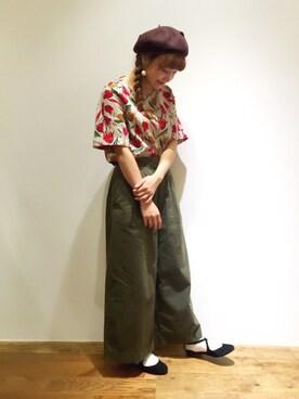 Dot&StripesCHILD WOMAN.atelier|kojiiさんのコーディネート