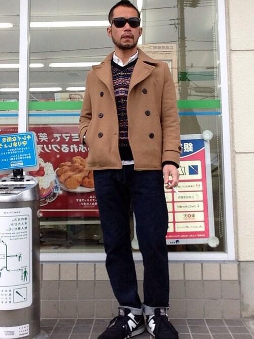 【永遠の定番アウター】ピーコートの着こなし方を改めて押さえよう!