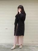 hiroさんの「モカシン パンチングシューズ 【クロールバリエ/COULEURVARIE】(COULEURVARIE|クロールバリエ)」を使ったコーディネート