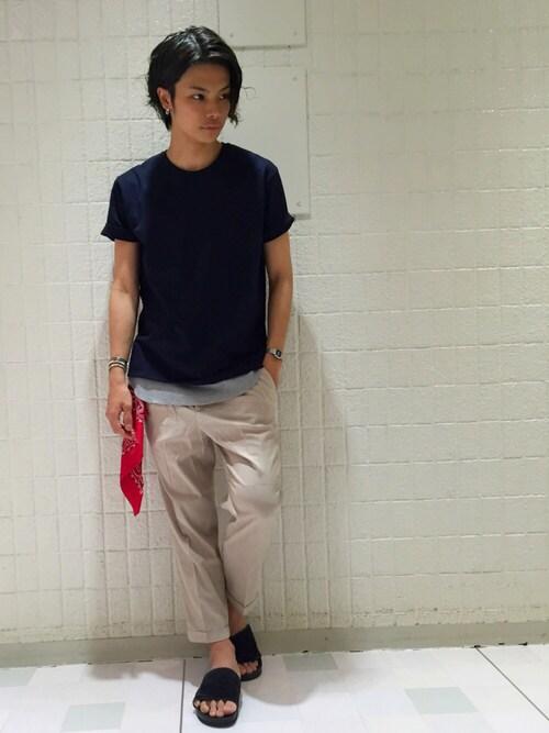 【 メンズ 】バンダナ 巻き方 コーディネート 手首 首 腰 メンズファッション
