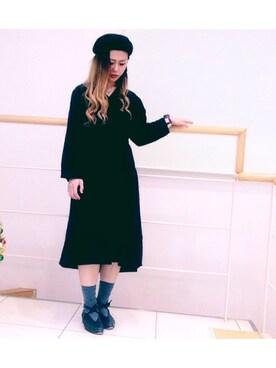 fumikoさんの「KBF ボリュームドレス(KBF)」を使ったコーディネート