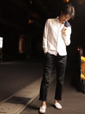 ブルーレーベル/ブラックレーベル・クレストブリッジZOZOTOWN店|Y.Takiseさんの(HERMES|エルメス)を使ったコーディネート