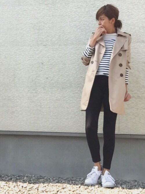 sayakaさんの「adidas Originals ROD LAVER(adidas)」を使ったコーディネート