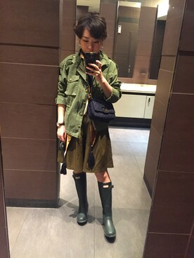 (H&M) using this 柏原 looks