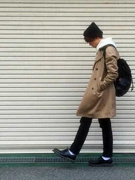 YaoKi【服を売らない店員さん】さんの(nano・universe|ナノユニバース)を使ったコーディネート