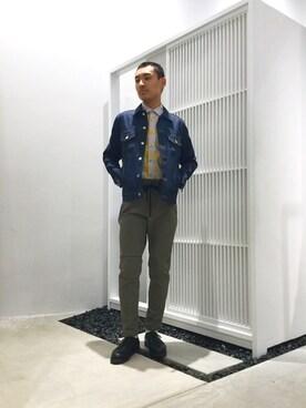 UNITED TOKYO EXPOCITY|井之元智之さんの(UNITED TOKYO|ユナイテッドトウキョウ)を使ったコーディネート