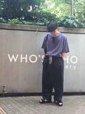 kinchanさんの「【KOMONO】「CRAFTED」 THE Beaumont(KOMONO.|コモノ)」を使ったコーディネート