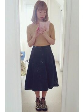 (ユニクロ) using this Hannah looks