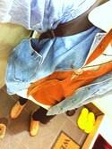 「ASOS BRAND ASOS Longline T-Shirt With Woven Shirt Hem In Slub Fabric(Asos)」 using this SHO looks