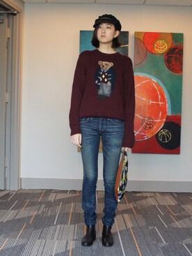 (Polo Ralph Lauren) using this Natsuki Tanaka looks