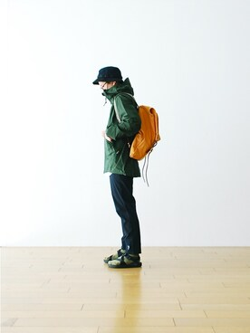 "WONDER MOUNTAIN|WONDERMOUNTAINさんの「South2 West8 (サウスツー ウェストエイト) ""CYCLE PANT - LONG""  ¥15,120-」を使ったコーディネート"