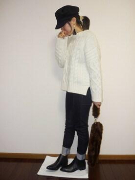haruakiさんの(ONE WAY|ワンウェイ)を使ったコーディネート