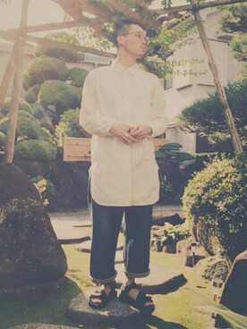 kazuaki kurasumi さんの(古着)を使ったコーディネート
