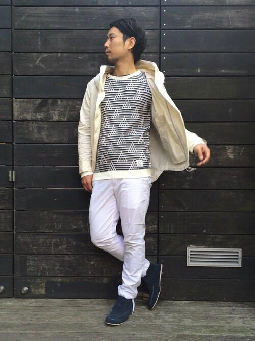 """今年の大トレンド""""ホワイトコーデ""""は春のメンズファッションには外せない!の画像"""