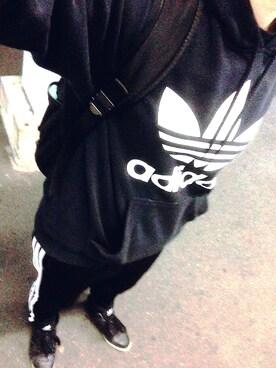 (adidas) using this ユカ looks