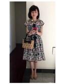 かなみさんの「☆フルーツバスケットJQ      後ろあきドレス☆(peu pres|プープレ)」を使ったコーディネート