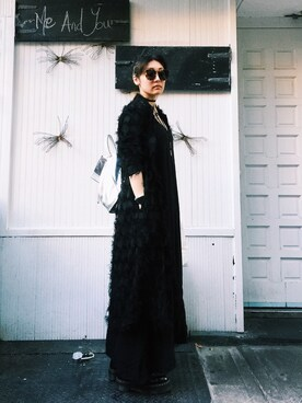 (KAREN WALKER) using this mayu looks