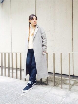 MILKFED. AT HEAVEN27ラフォーレ原宿|田代綾美さんの「ARAN KNIT TOP(ニット/トップス)(MILKFED.|ミルクフェド)」を使ったコーディネート
