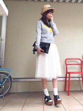 Tu--chanさんの(COCO DEAL ココ ディール)を使ったコーディネート