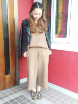 「FOREVER 21 Faux Leather Moto Jacket(Forever 21)」 using this manatsucodx looks