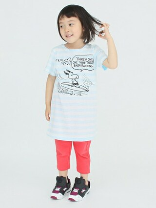 green label relaxing|green label relaxingさんの「【KIDS】LEE SNOOPY ワンピース(green label relaxing|グリーンレーベルリラクシング)」を使ったコーディネート