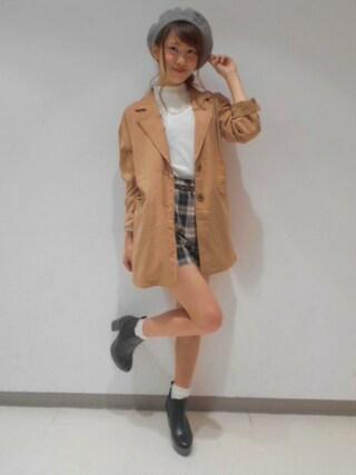 Heather 渋谷パルコ店|Heather 渋谷パルコ店 STAFFさんの「コクーンテーラードジャケット 566727(Heather|ヘザー)」を使ったコーディネート
