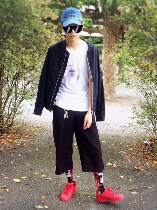 まろまろさんの(Calvin Klein Jeans)を使ったコーディネート