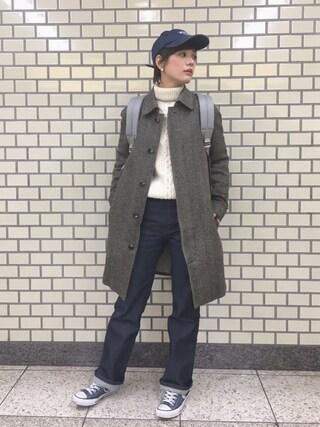 石川 瑠利子さんの「CONVERSE / CVS ALL STAR HI(CONVERSE|コンバース)」を使ったコーディネート