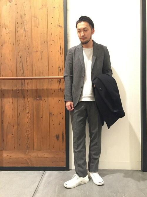 takeshimaさんの「DOORS Wool 2B Jacket(URBAN RESEARCH DOORS MENS)」を使ったコーディネート