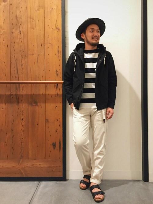 アーバンリサーチ DOORS あべのand店 | takeshimaさんのTシャツ/カットソー「URBAN RESEARCH DOORS MENS Mt.Design 3776 Le Minor 別注 Short Sleeve」を使ったコーディネート