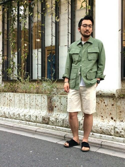 takeshimaさんの「FORK&SPOON短褲(DOORS)」を使ったコーディネート