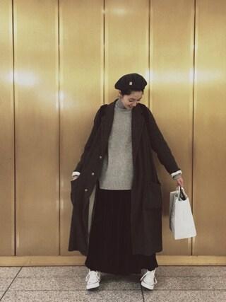 小谷実由さんの「CONVERSE / CVS ALL STAR HI(CONVERSE|コンバース)」を使ったコーディネート