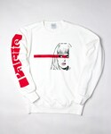 Palette TOKYO(パレットトーキョー)の「VICTORIA'S CRY CREW SWEAT (RED)(Tシャツ・カットソー)」