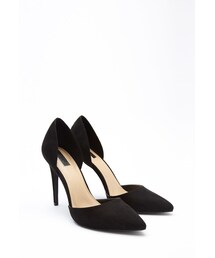 Forever 21「FOREVER 21 Pointed Faux Suede Pumps(Pumps)」