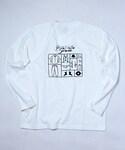 Palette TOKYO(パレットトーキョー)の「PLASTIC ORANGE L/S(WHITE)(Tシャツ・カットソー)」